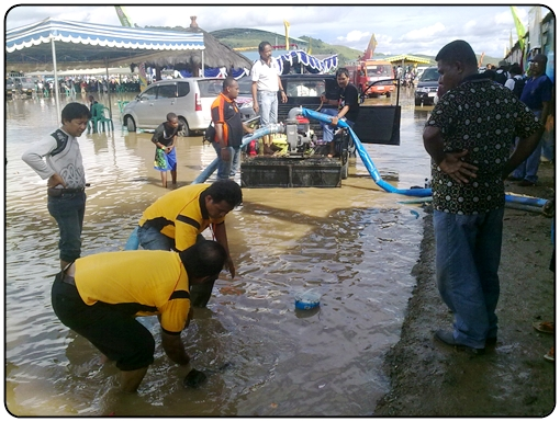 Festival Danau Sentani Kebanjiran