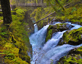 """Sol Duc Falls"" by Robin Prentice -- 2nd place Digital General B"