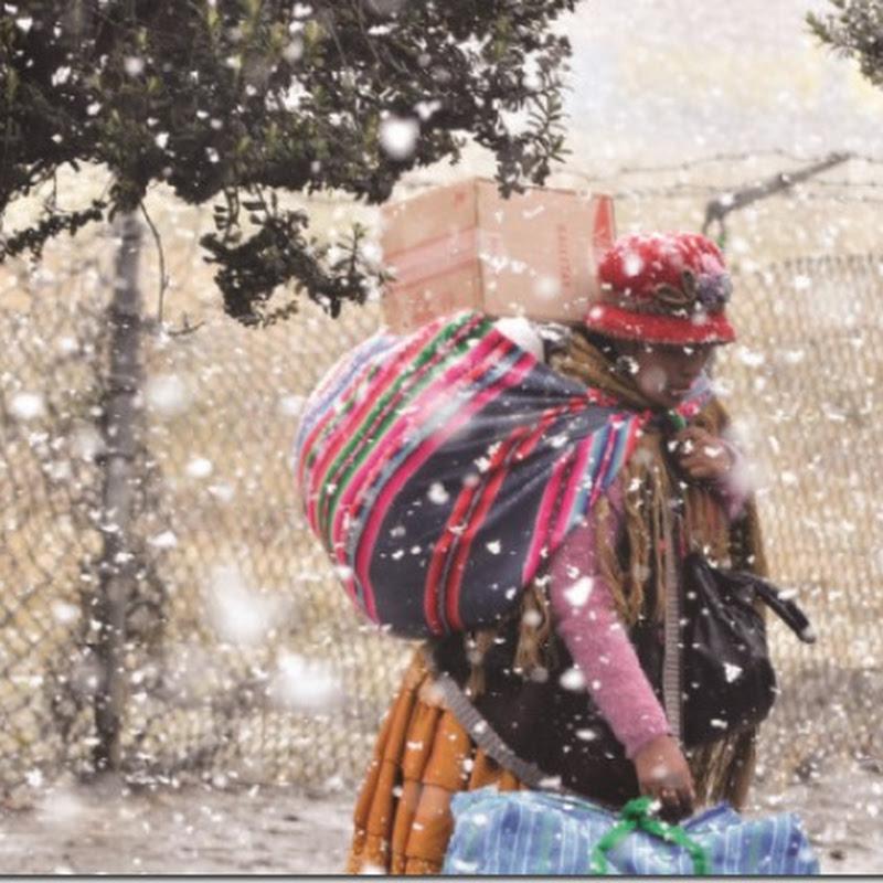 La Paz registra el mediodía más frío de los últimos 56 años