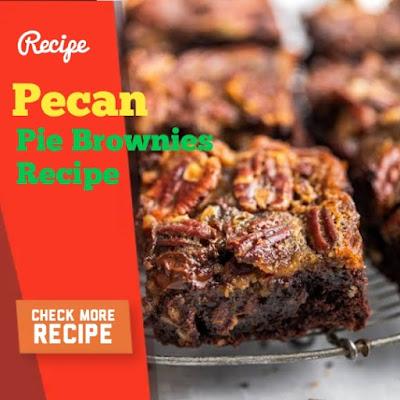 Mrs. Field's Pecan Pie Brownies