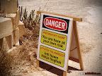 RAcing Saftey Sign