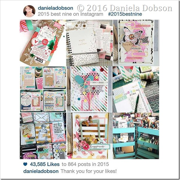 Top nine of 2015 by Daniela Dobson