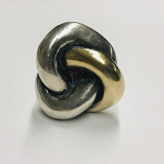 Yaacov Heller Signed Sterling Silver Ring