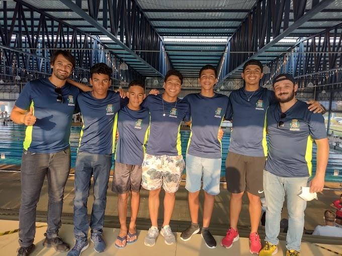Atletas da Natação de Araçatuba se destacam em competição paulista
