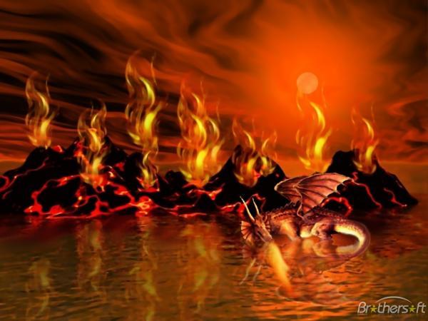 Dragon Volcano, Dragons
