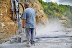 2 - Extraction au marteau perforateur