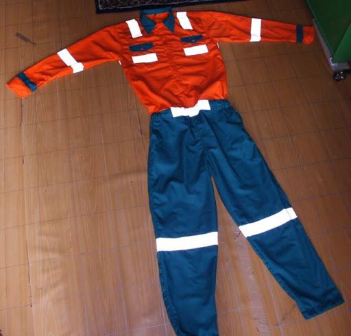 Menerima Pembuatan Pakaian Wearpack bahan american drill