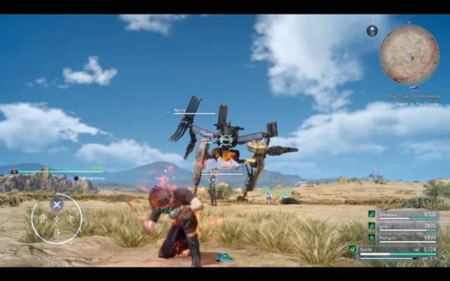 Final Fantasy XV - MA-X Angelus-0 Boss Guide (So töten Sie einen Riesenroboter)