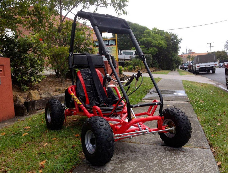 6.5HP 200cc Kids Dune Buggy Go Cart with Rollcage