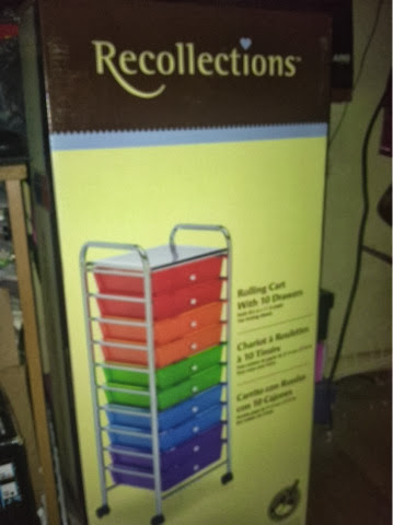 Icandy Cosmetics Recollections Rainbow Rolling Cart
