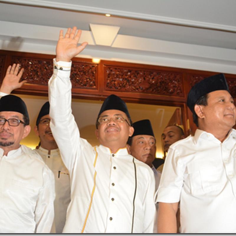 Usung Anies Baswedan, Taufik: Ini Jiwa Besar Gerindra dan PKS