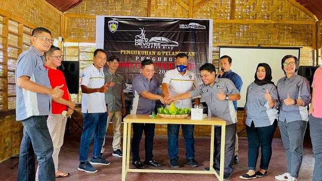 Mirwansyah S.H., M.H. Dikukuhkan Sebagai Ketua HRV DEVOTEE Indonesia Chapter Riau