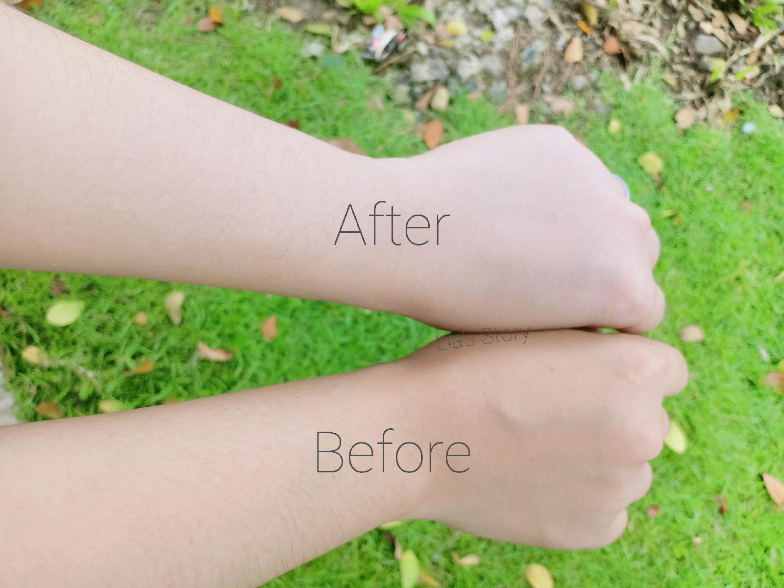 review-ulthyme-brightening-body-serum-hasil-pemakaian