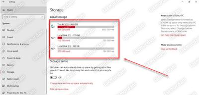 cara scan menghapus file sampah di windows 10