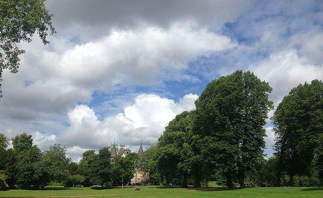 Callendar House mit Park, Falkirk