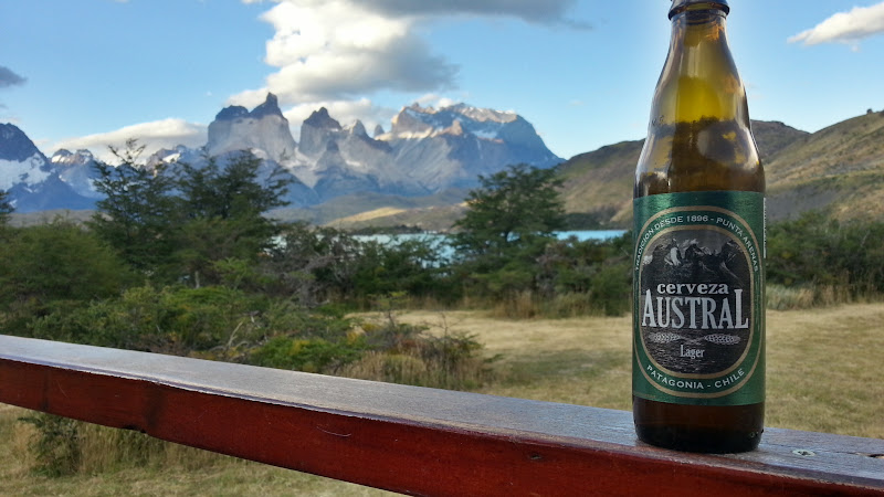 Austral Lager in Torres del Paine
