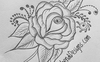 Rose Tattoo , How to draw