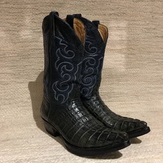 Caiman Western Boots