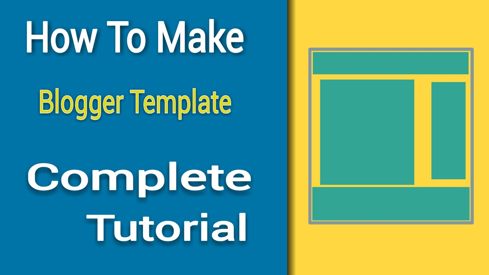 Make Your Own Blogger Template