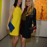 OIC - ENTSIMAGES.COM - Linzi Stoppard and Emma Noble  at the Omar Hassan - Breaking Through, Private View at ContiniArtUK in London 23rd April 2015 Photo Mobis Photos/OIC 0203 174 1069