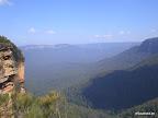 3. Blick auf die Blue Mountains
