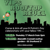 YIPs Auckland - St Patrick's Day Rooftop Revel