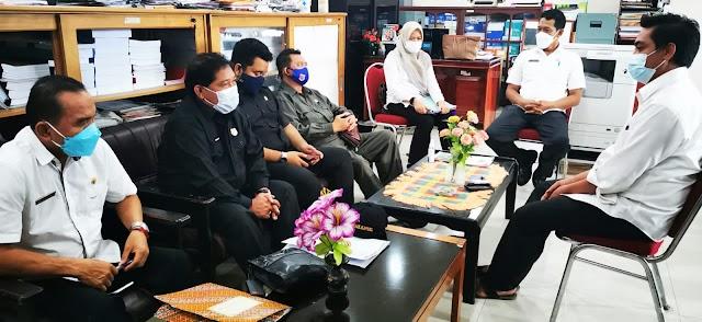 Bapemperda DPRD Kapuas Konsultasi dan Koordinasi Raperda Prokes