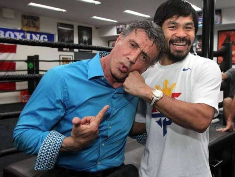Stallone y Pacquiao
