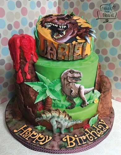 pastel de dinosaurios - 17