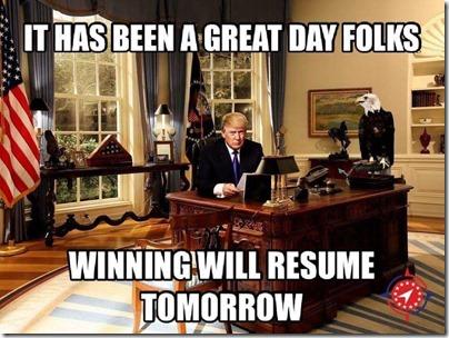 trump winning will resume tomorrow