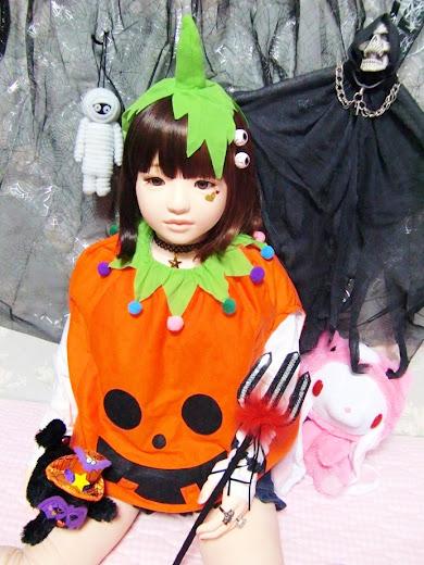 ララドールのハロウィン衣装