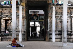Mayiladuthurai Temple Entrance