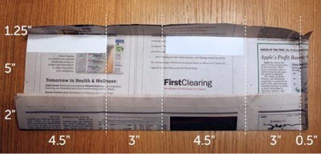 Berikut ini adalah tips membuat kantong kerras dengan kertas koran ...