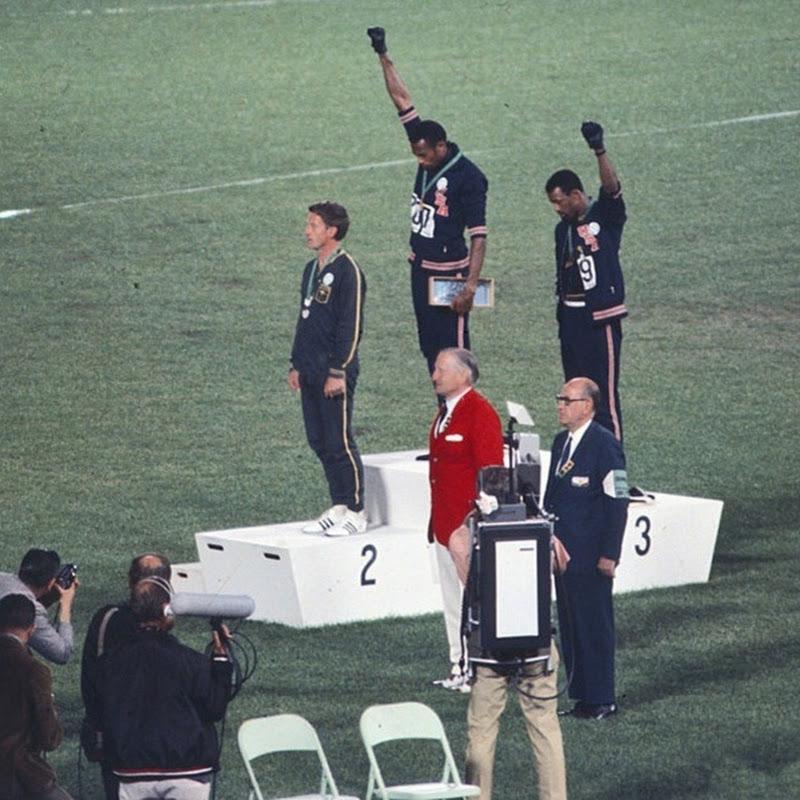 Grandes momentos olímpicos - Os Panteras Negras