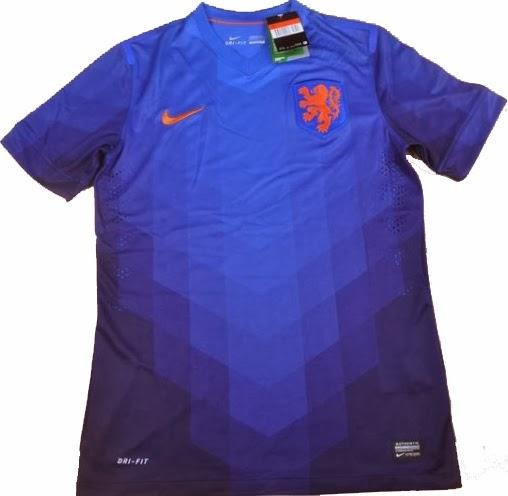 Jual Jersey Belanda Away Piala Dunia 2014