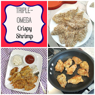 Triple-Omega Crispy Shrimp