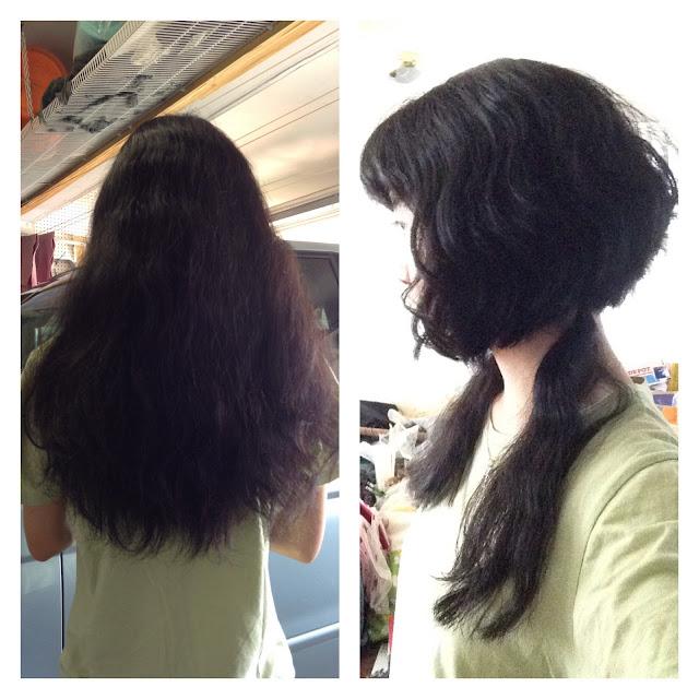 Wenwen han haircut