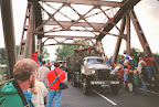 Corridor tour, Grave bridge - Market Garden 1994