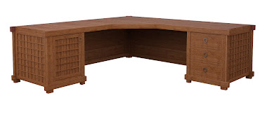 Tansu L-Shaped Desk
