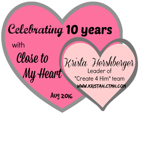 10 years with close to my heart - logo - picmonkey