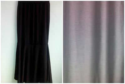Skirt Mermaid Hitam