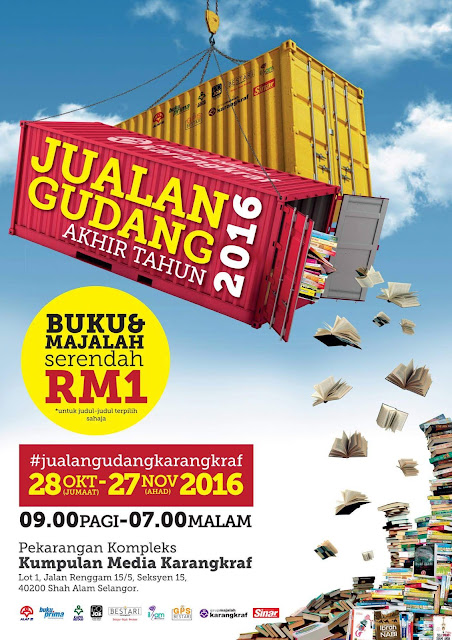 Jualan Gudang Karangkraf 2016