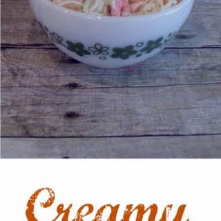 Creamy Coleslaw.