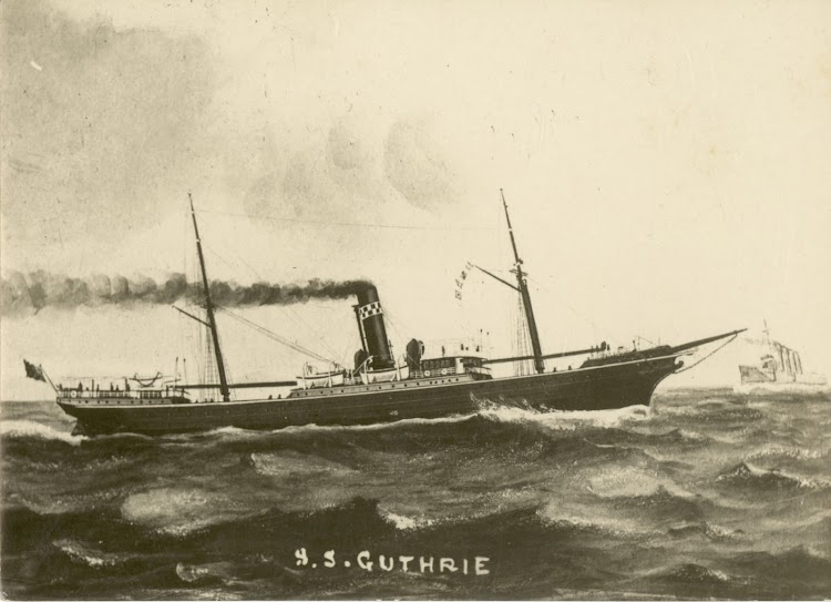 S.S. GUTHRIE. Ernest G. Best postcard collection. Foto State Library of New South Wales. Web Trove.tif