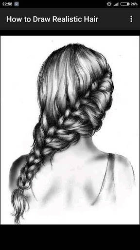 How to Draw Realistic Hair  screenshots 11