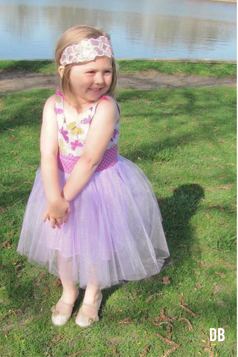 Handmade Butterfly Birthday Dress by Daydream Believers Designs