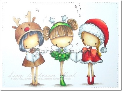 Three Christmas Girls (1)