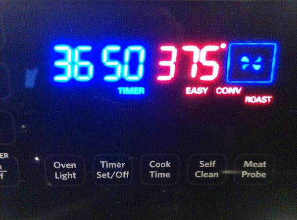 Preheat oven to 400 or 375 convection