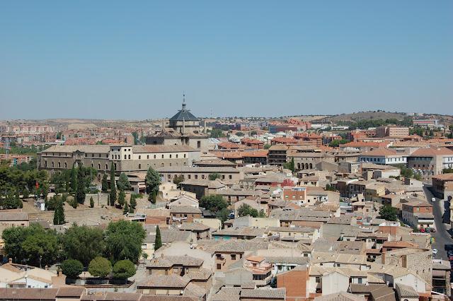 Alcazar de Toledo, panoramica