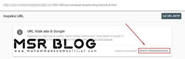 Cara mempercepat artikel terindex Google